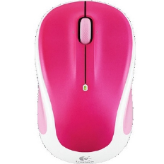 LOGITECH Wireless Mouse M325 ( Peppermint Crush )