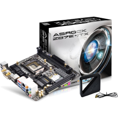 ASRock Motherboard Z87E-ITX with WIFI bundle