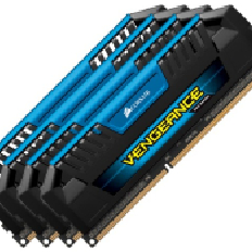 Corsair Memory Vengeance Pro Blue DDR3 32GB PC12800 - CMY32GX3M4A1600C9B