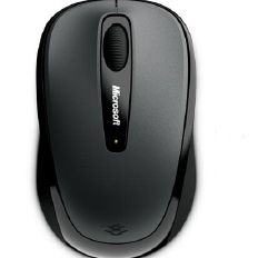 MICROSOFT Wireless Mobile Mouse 3500 ( Black )