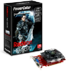 Power Color HD 5670 2GB DDR5 128BIT