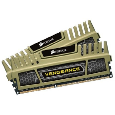Corsair Memory Vengeance Green DDR3 16GB PC12800 - CMZ16GX3M2A1600C9G (2X8GB) 1.35V