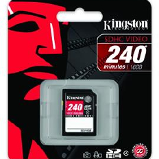 Kingston 16Gb SDV-SDHC Video
