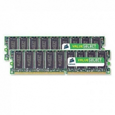 Corsair Memory Value Select DDR2 1GB PC5300 - VS1GB667D2