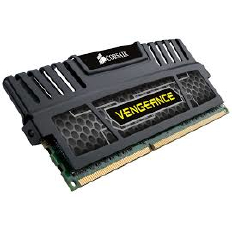 Corsair Memory Vengeance Black DDR3 32GB PC12800 - CMZ32GX3M4A1600C9 (4X8GB)