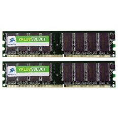 Corsair Memory Value Select DDR3 4GB PC10600 - CMV4GX3M1A1333C9 (1X4GB)