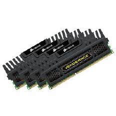 Corsair Memory Vengeance Black DDR3 16GB PC19200 - CMZ16GX3M4A2400C10 (4X4GB)