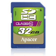 Apacer 32gb sdhc Class 10 card