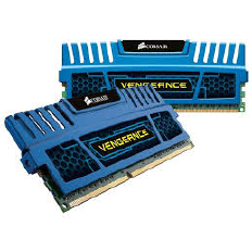 Corsair Memory Vengeance Blue DDR3 8GB PC15000 - CMZ8GX3M2A1866C9B (2x4GB)