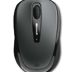 MICROSOFT Wireless Mobile Mouse 3500 ( Grey )