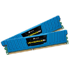 Corsair Memory Vengeance Blue Low Profile DDR3 8GB PC12800 - CML8GX3M2A1600C9B (2X4GB) LP