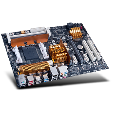 ECS Motherboard A852- A Deluxe BE