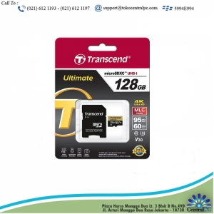 TRANSCEND 128GB MICRO SD 300S (TLC) WITH ADAPTER