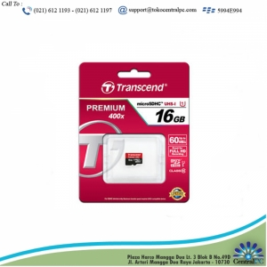 TRANSCEND 16GB SD CARD UHS-I U1