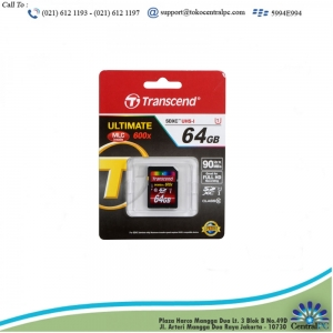 TRANSCEND 64GB  SD CARD  UHS-I U3 SDXC